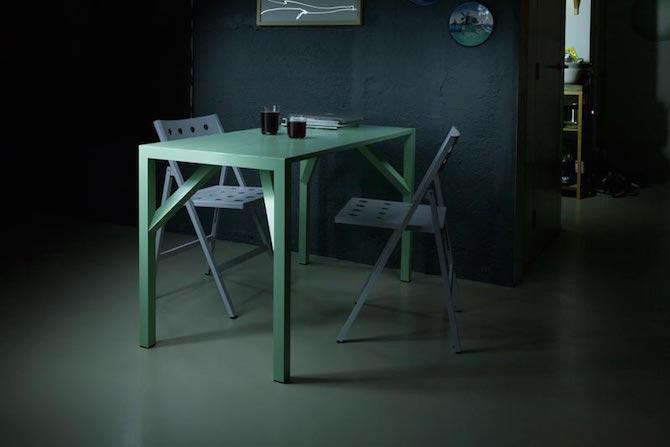 Yean aluminium table | bureau - eettafel - tuintafel | Maarten Baptist | Room|LOFT#2 | C-More Concept Store