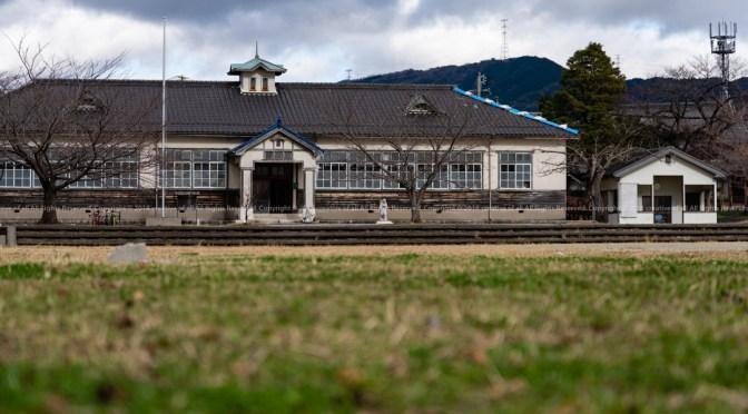 桐林館 阿下喜美術室(旧阿下喜小学校)で、カレーとコーヒーを。