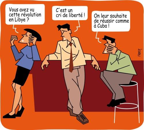 Cuba Libye Révolution yes