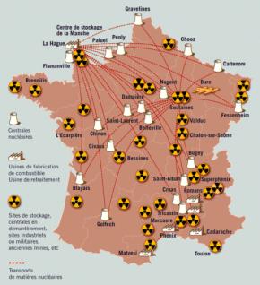 Record mondial d'installations nucléaires par habitant.