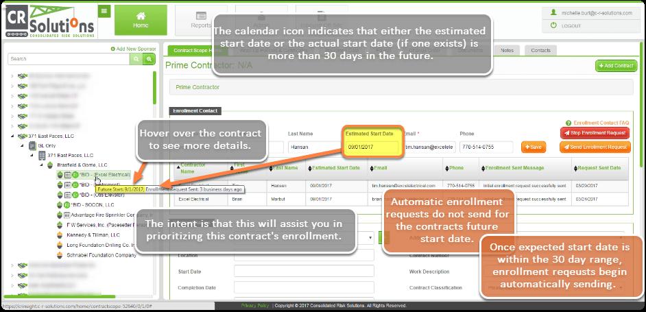 CR-Insight® Calendar Icon