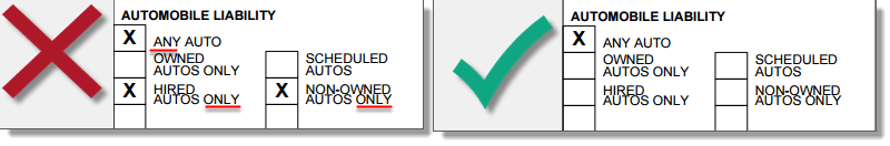 Certify® Automobile Liability