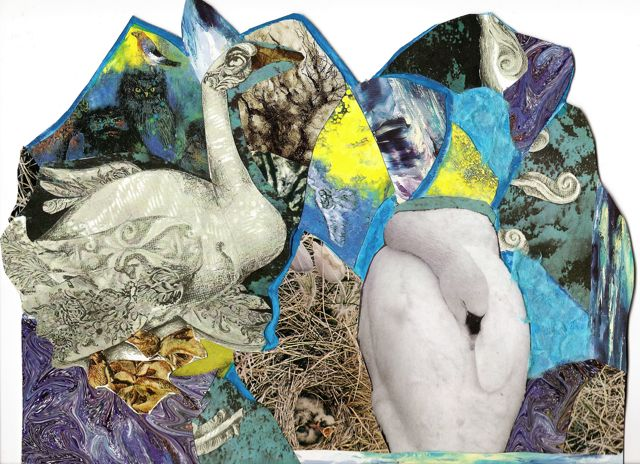 Two Animal Collages Plus Barn by Catherine (1/3)