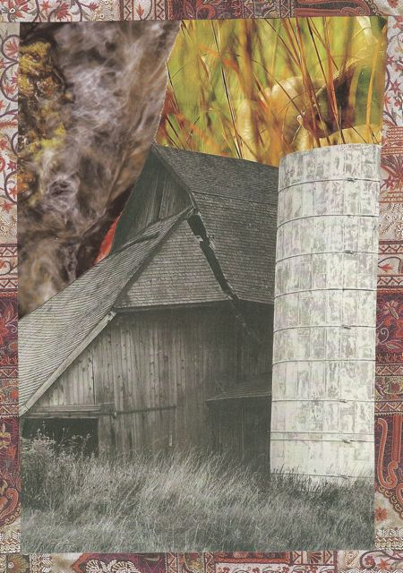 Two Animal Collages Plus Barn by Catherine (3/3)
