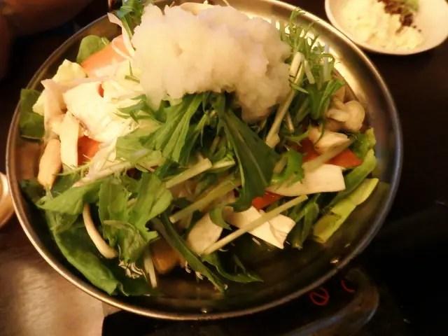 海鮮みぞれ鍋