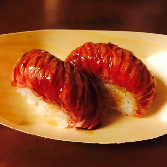 ビーフ寿司
