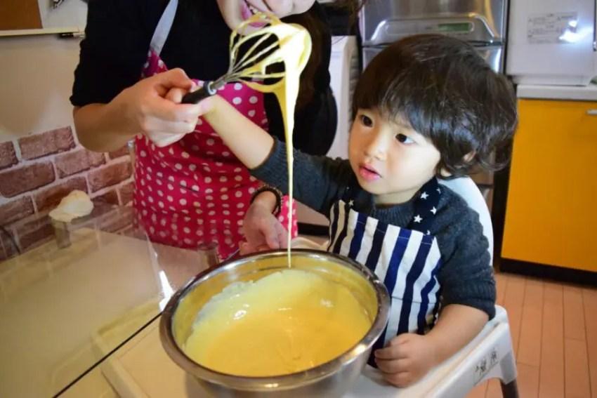 「男子ごはん」キッズクレープ(焼きリンゴ)のレシピ!栗原心平ホットプレート料理!