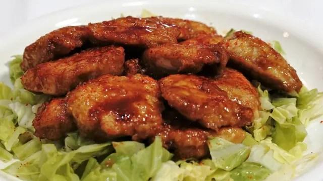 「ノンストップ」鶏むね肉のはちみつ照り焼きの梅風味のレシピ!