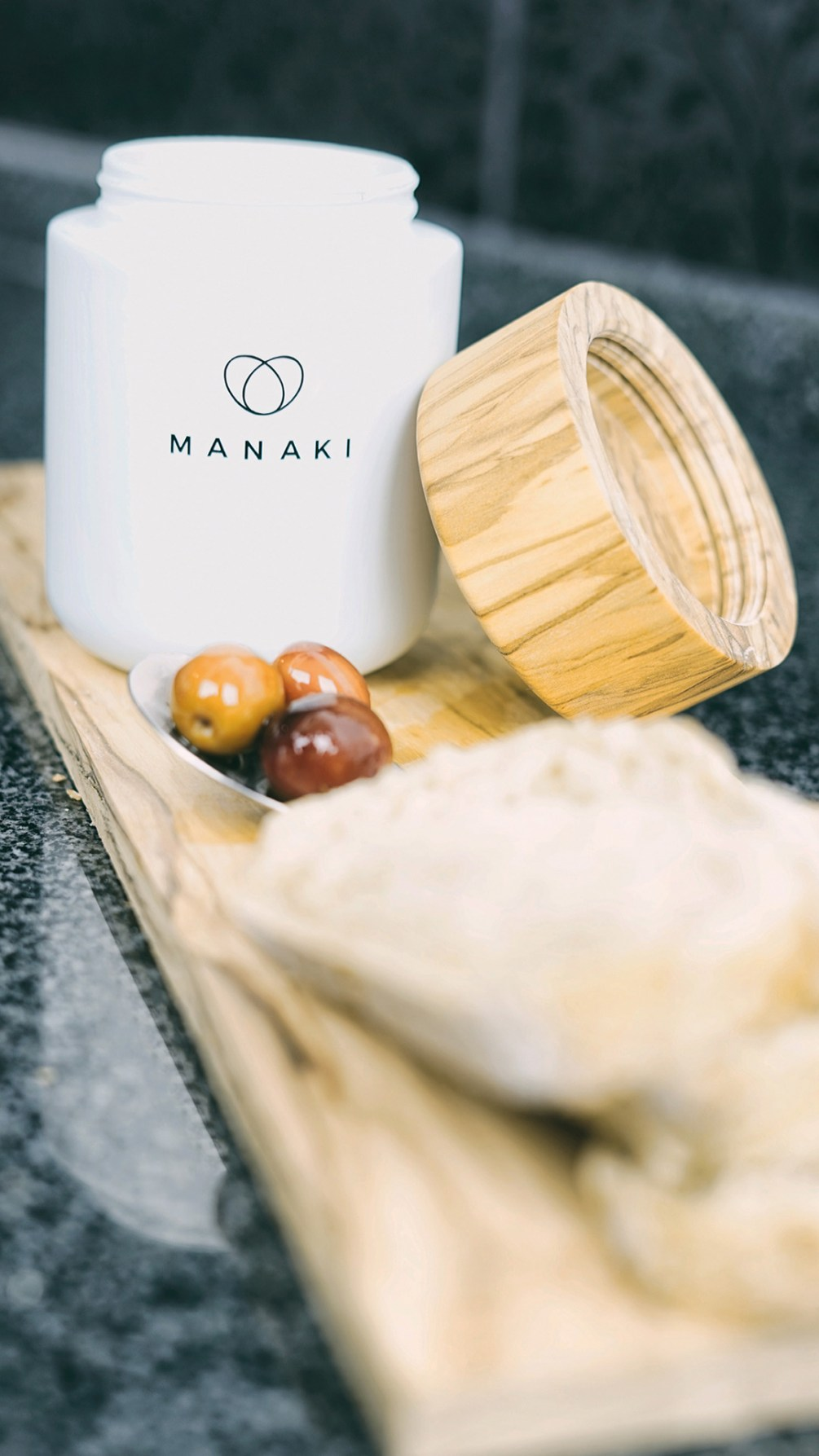 Manaki-Anwendung-Oliven
