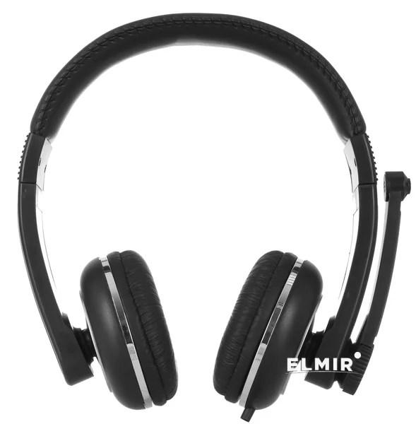 Наушники Ergo VM-280 Black купить | ELMIR - цена, отзывы ...
