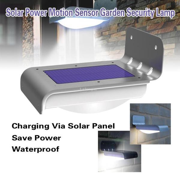 16 LED Solar Power Motion Sensor Sec (end 1/30/2019 3:15 PM)