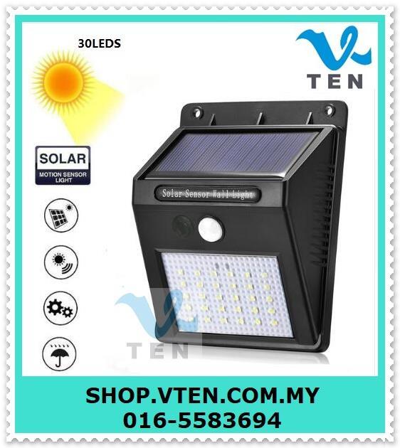 3 in 1 30LED Solar Power PIR Motion (end 1/15/2020 10:15 AM)