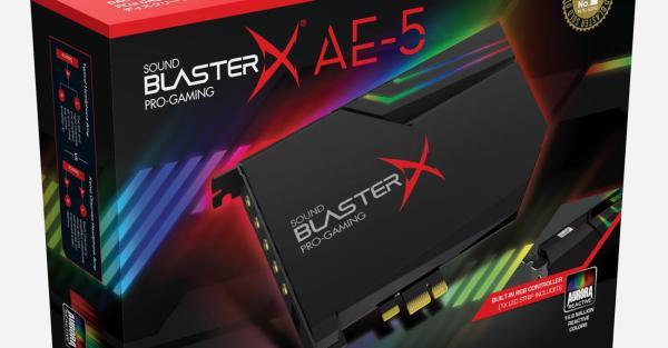 Creative Sound BlasterX AE-5 PCIe Ga (end 4/29/2019 4:15 PM)