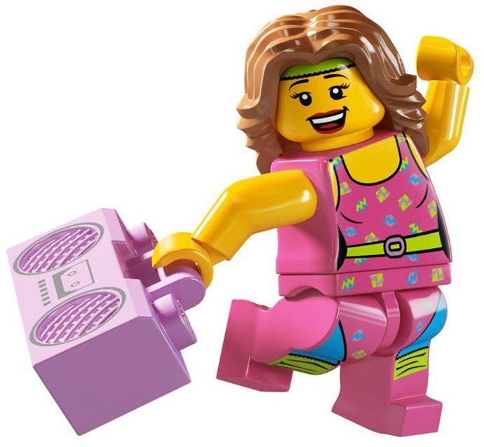 LEGO 8805 Aerobic Dancer   Fitness  end 11 20 2019 11 07 PM  LEGO 8805 Aerobic Dancer   Fitness Instructor Minifigure Series 5