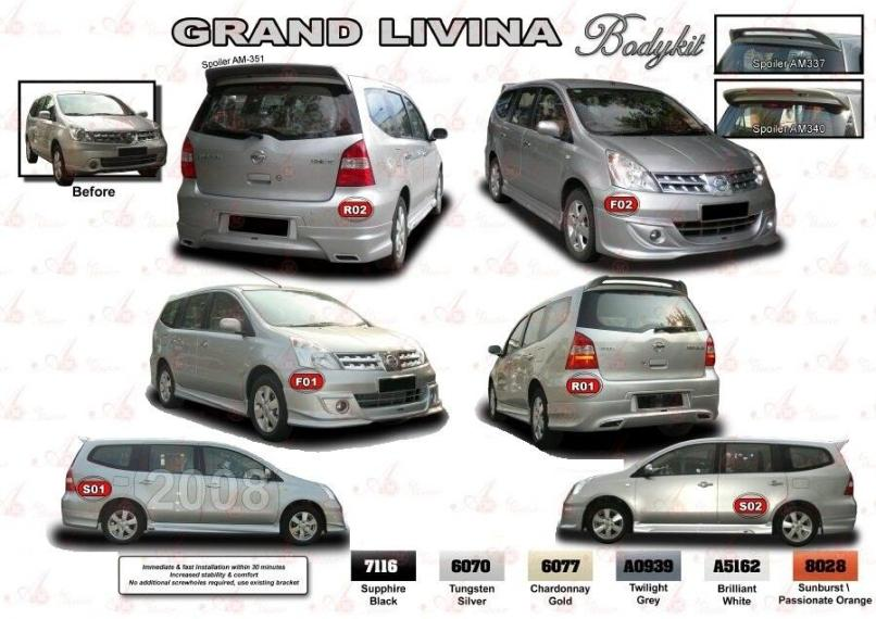 Spare Parts Nissan Grand Livina Reviewmotors Co