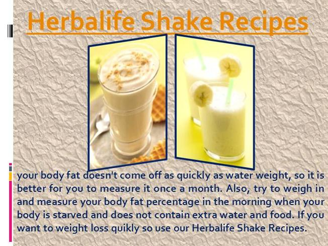 Herbalife Shake Recipes With Water   Chekwiki.co