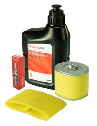 Powerlite Honda Service Kit for Honda GX340 and GX390 Engines - filters, spark plug and oil