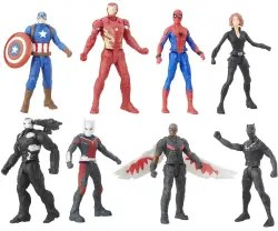 Captain America Civil War Figure Multipack for $14