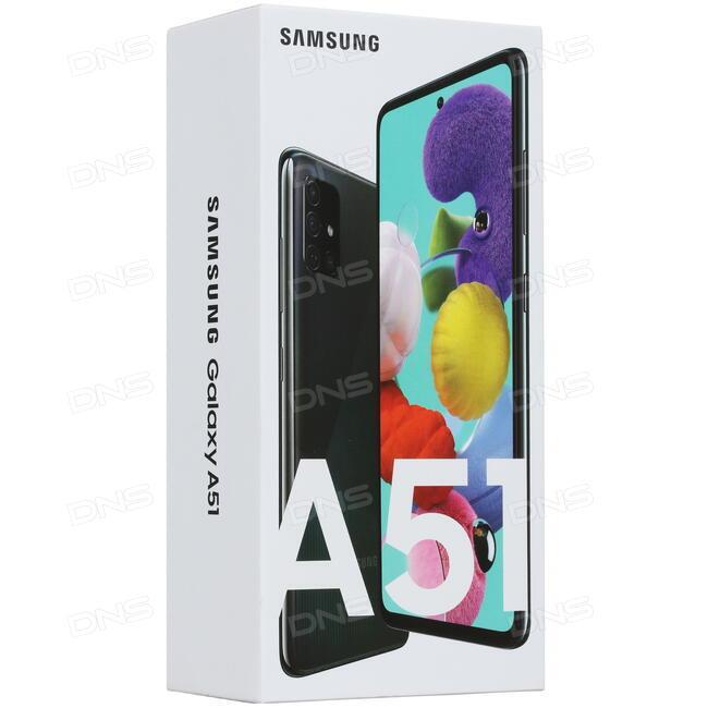 """Купить 6.5"""" Смартфон Samsung Galaxy A51 64 ГБ черный в интернет ..."""