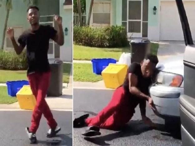 ابوظہبی میں حکام کا چلتی گاڑی سے اتر کر رقص کرنے والے 3 نوجوانوں کو گرفتار کرنے کا حکم (فوٹو : فائل)