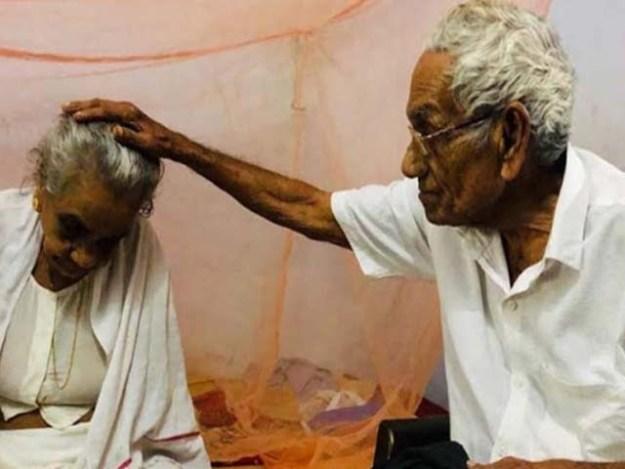 1946 میں نارایانن اور سرادا شادی کے بندھن میں بندھے تھے فوٹو : بھارتی میڈیا