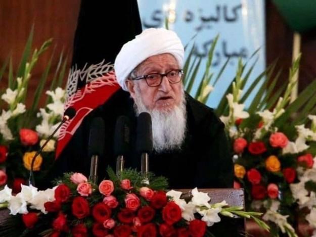سویت یونین کے انخلاء کے بعد صبغت اللہ مجددی نے افغانستان کا آئین تشکیل دینے میں کلیدی کردار ادا کیا۔ فوٹو : فائل