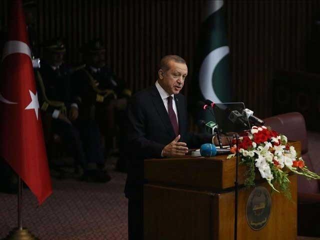 کشمیر ہمارے لیے وہی حیثیت رکھتا ہے جو پاکستان کے لیے، ترک صدر