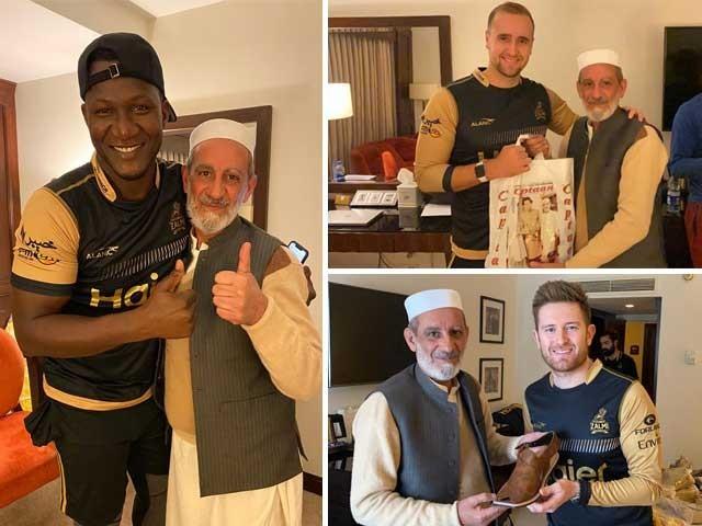پشاور زلمی کے غیر ملکی کھلاڑی بھی پشاوری چپل کے دیوانے