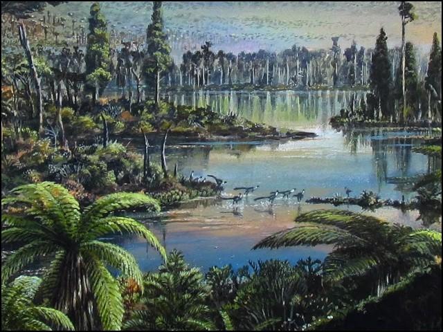 انٹارکٹیکا پر 9 کروڑ سال پہلے گھنا بارانی جنگل ہونے کا انکشاف