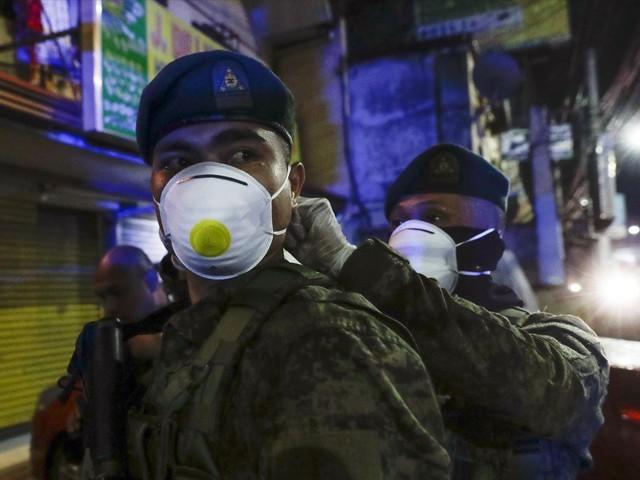 فلپائن میں پولیس نے ماسک نہ پہننے والے شہری کو گولی ماردی
