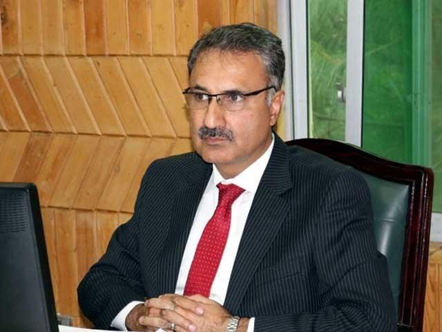چیف سیکرٹری خیبر پختونخوا ڈاکٹر کاظم نیاز میں کورونا کی تصدیق