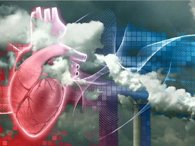 فضائی آلودگی میں کمی سے امراضِ قلب کا خطرہ بھی کم ہوجاتا ہے، تحقیق
