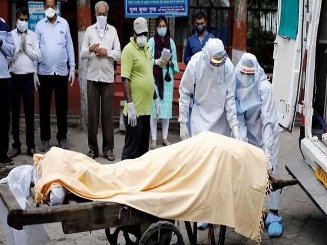 بھارت کورونا وبا سے متاثر ہونے والا تیسرا بڑا ملک بن گیا