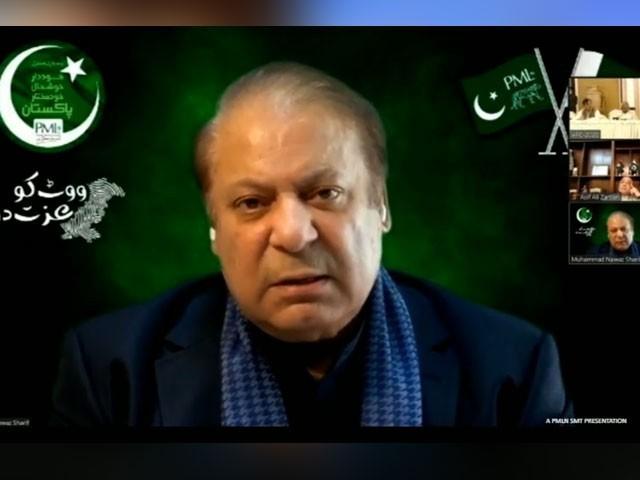 اے پی سی؛ ہمارا مقابلہ عمران خان سے نہیں ان کے لانے والوں سے ہے، نواز شریف