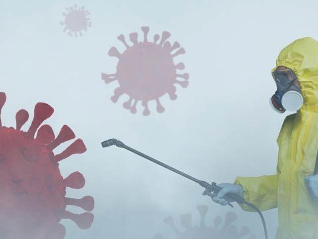 صرف 15 منٹ میں کورونا وائرس کی ایک قسم کو ختم کرنے والا پینٹ