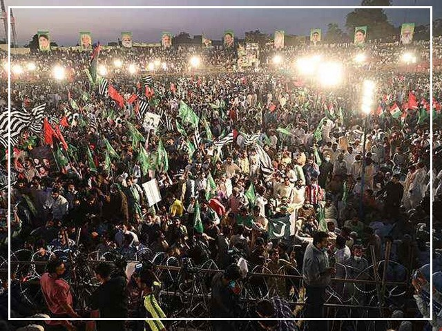اپوزیشن کا آج دوسرا پاور شو، کراچی جلسے کی تیاریاں مکمل