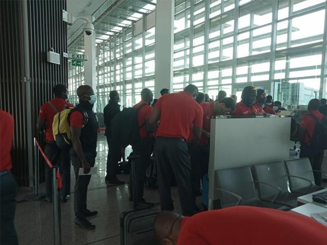 زمبابوے کی کرکٹ ٹیم پاکستان پہنچ گئی