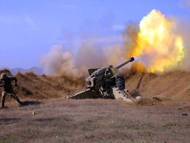 آرمینیا اورآذربائیجان میں پھر جھڑپیں شروع، ایران نے بھی فوج میدان میں اُتاردی