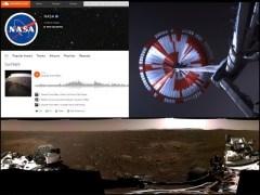 ناسا نے مریخ کی تازہ ترین ویڈیو، تصاویر اور آوازیں جاری کردیں