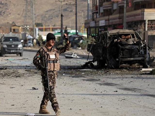 افغانستان میں چیک پوسٹ کے قریب کار بم دھماکے میں 6 اہلکار ہلاک