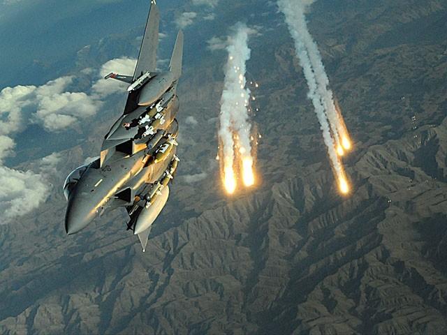 امریکی جنگی طیاروں کی شام میں ایرانی ٹھکانوں پر بمباری، 17 جنگجو ہلاک
