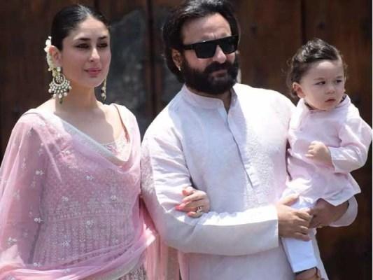 سیف علی خان اور کرینہ کپور رواں برس 21 فروری کو دوسری بار والدین بنے تھے فوٹوفائل