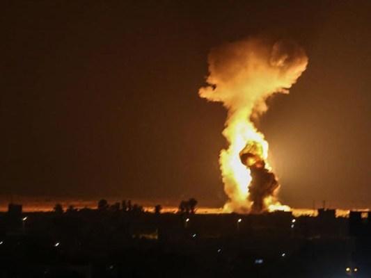 فضائی حملوں میں کوئی جانی نقصان نہیں ہوا، فوٹو: فائل