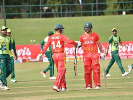 پہلے ٹی ٹوئنٹی میچ میں پاکستان نے زمبابوے کو شکست دی تھی