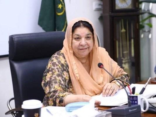 پنجاب میں اس وقت آکسیجن فراہمی کی صورتحال بہتر ہے، یاسمین راشد۔ فوٹو:فائل