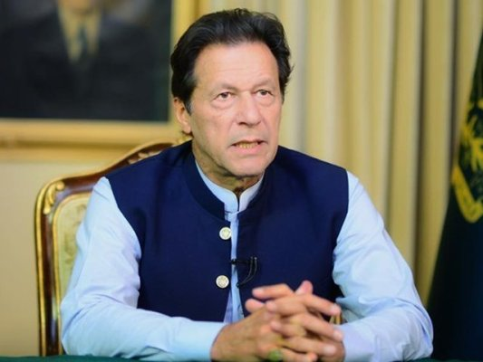 ملک کو کرپشن سے پاک کرنے کے لیے جدوجہد کا آغاز کیا تھا، عمران خان (فوٹو:فائل)