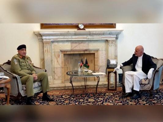 ملاقات میںباہمی دلچسپی کے امورسمیت افغان امن عمل پربھی تبادلہ خیال کیا گیا۔(فوٹو:فائل)