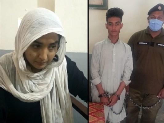 مقتول کو قتل کرنے کے بعد دونوں نے شادی کرنا تھی۔ فوٹو : ایکپسریس