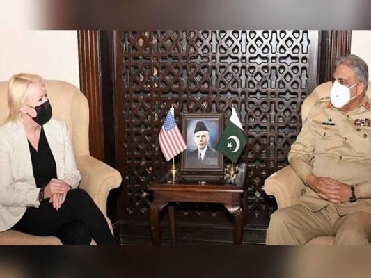 امریکی ناظم الامور نے خطے میں بالخصوص افغان مفاہمتی عمل میں پاکستان کے کردار کی تعریف کی