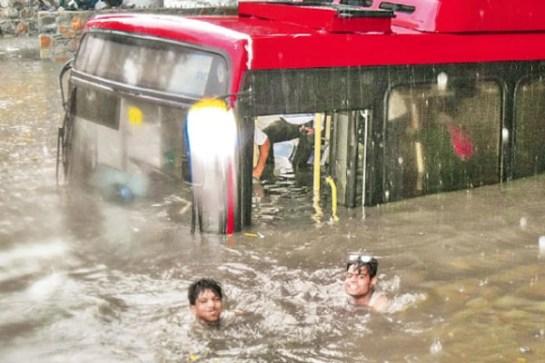 Rain in Delhi 1